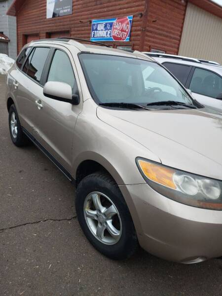 2007 Hyundai Santa Fe for sale at WB Auto Sales LLC in Barnum MN