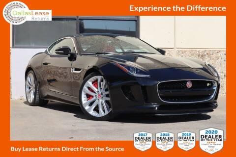 2015 Jaguar F-TYPE for sale at Dallas Auto Finance in Dallas TX