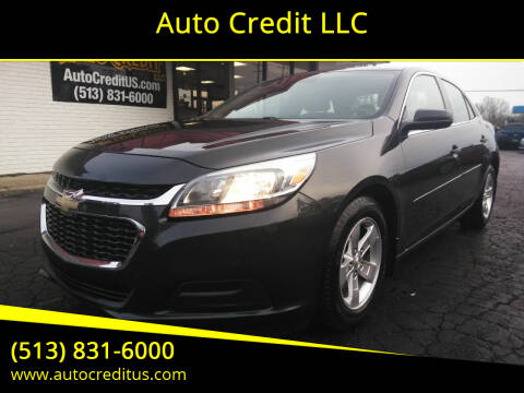 2014 Chevrolet Malibu for sale at Auto Credit LLC in Milford OH