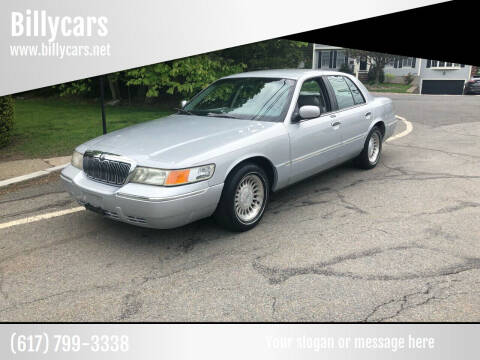 2002 Mercury Grand Marquis for sale at Billycars in Wilmington MA