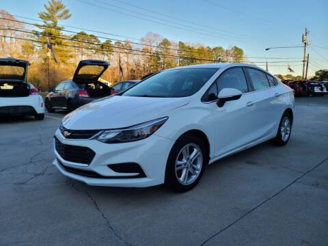 2017 Chevrolet Cruze for sale at DADA AUTO INC in Monroe NC