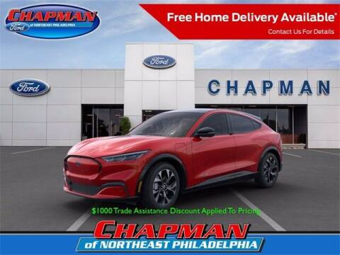 2021 Ford Mustang Mach-E for sale at CHAPMAN FORD NORTHEAST PHILADELPHIA in Philadelphia PA