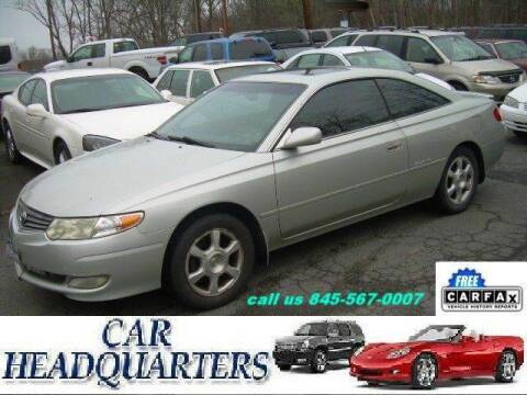 2002 Toyota Camry Solara for sale at CAR  HEADQUARTERS in New Windsor NY