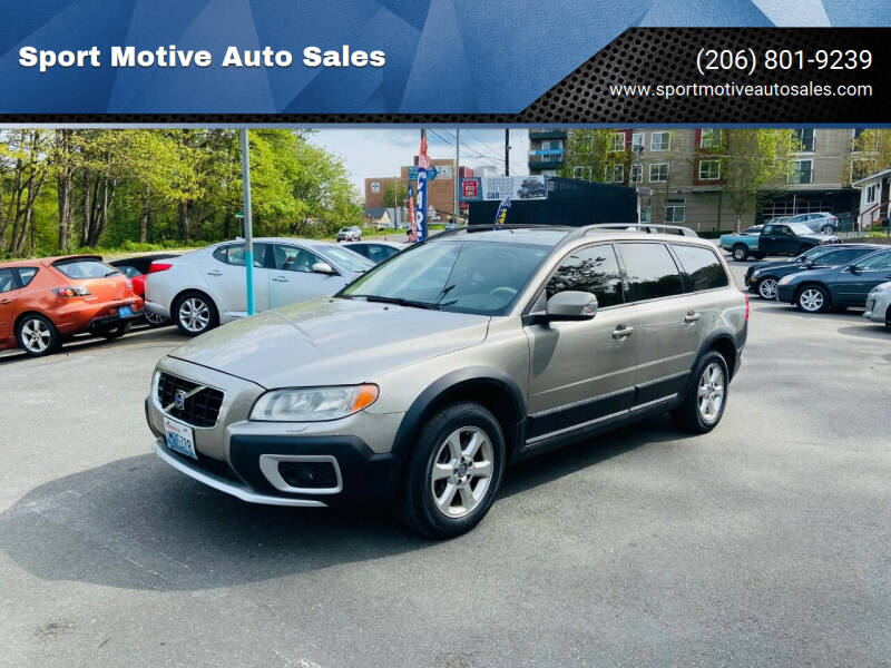 2008 Volvo XC70 for sale at Sport Motive Auto Sales in Seattle WA