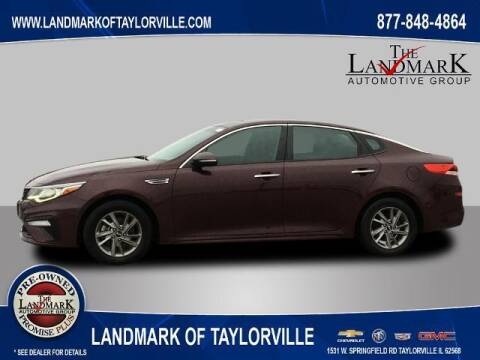 2019 Kia Optima for sale at LANDMARK OF TAYLORVILLE in Taylorville IL