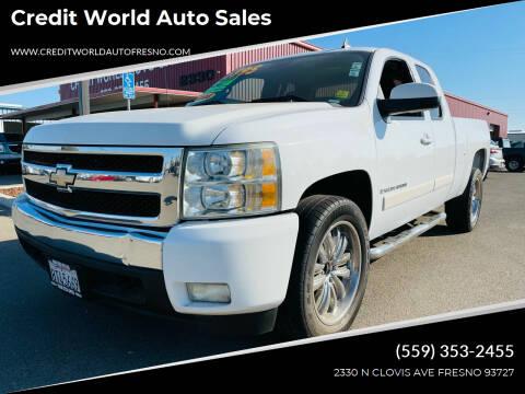 2008 Chevrolet Silverado 1500 for sale at Credit World Auto Sales in Fresno CA