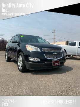 2011 Chevrolet Traverse for sale at Quality Auto City Inc. in Laramie WY