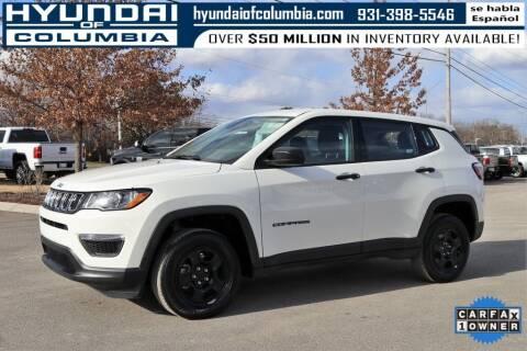 2019 Jeep Compass for sale at Hyundai of Columbia Con Alvaro in Columbia TN