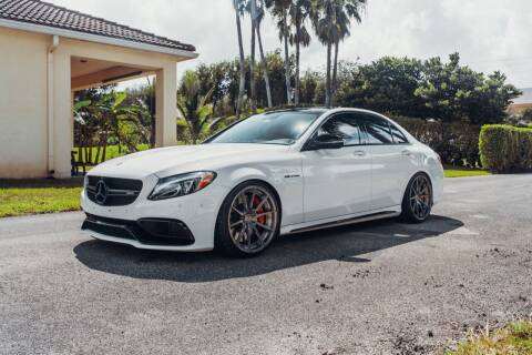 2017 Mercedes-Benz C-Class for sale at EURO STABLE in Miami FL