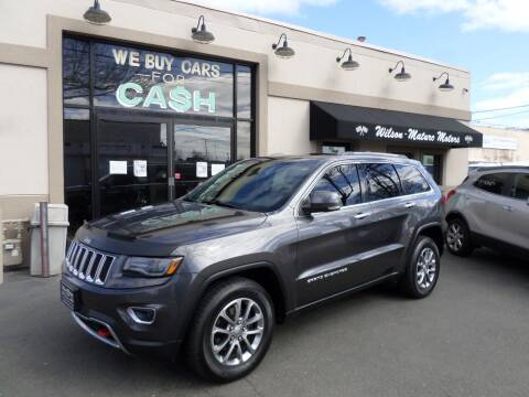 2014 Jeep Grand Cherokee for sale at Wilson-Maturo Motors in New Haven Ct CT