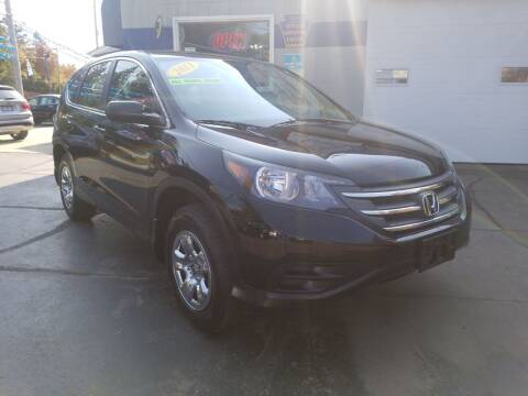 2013 Honda CR-V for sale at Bizzarro`s Fleetwing Auto Sales in Erie PA