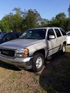 2004 GMC Yukon for sale at Inter Car Inc in Hillside NJ