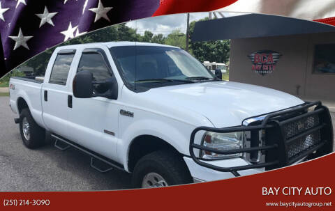 2006 Ford F-250 Super Duty for sale at Bay City Auto's in Mobile AL
