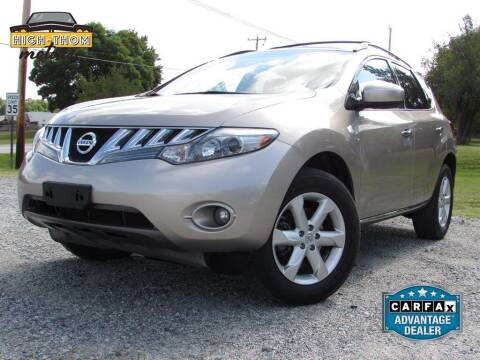 2010 Nissan Murano for sale at High-Thom Motors in Thomasville NC