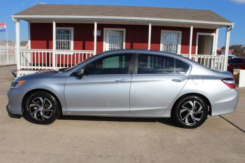 2017 Honda Accord for sale at AMT AUTO SALES LLC in Houston TX