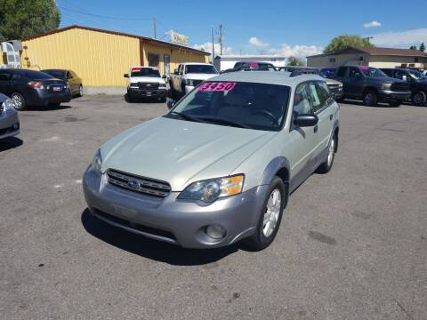 2005 Subaru Outback for sale at BELOW BOOK AUTO SALES in Idaho Falls ID