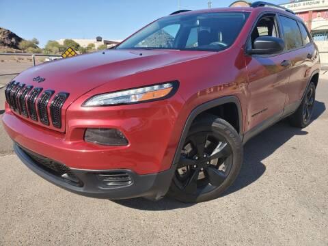 2017 Jeep Cherokee for sale at Arizona Auto Resource in Tempe AZ