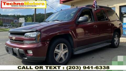 2005 Chevrolet TrailBlazer EXT for sale at Techno Motors in Danbury CT