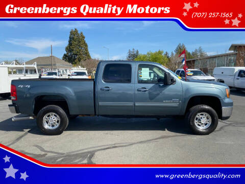 2008 GMC Sierra 2500HD for sale at Greenbergs Quality Motors in Napa CA