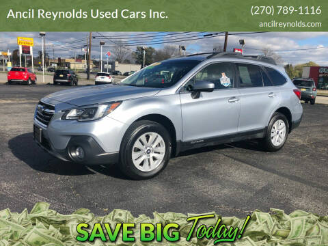 2018 Subaru Outback for sale at Ancil Reynolds Used Cars Inc. in Campbellsville KY