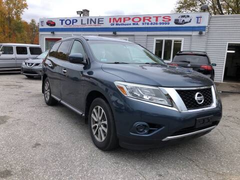2014 Nissan Pathfinder for sale at Top Line Import of Methuen in Methuen MA