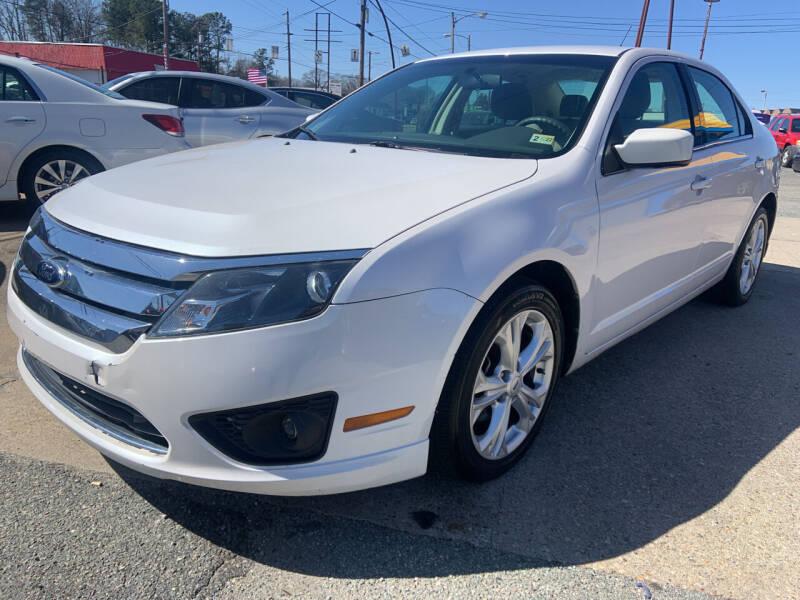 2012 Ford Fusion for sale in Richmond, VA