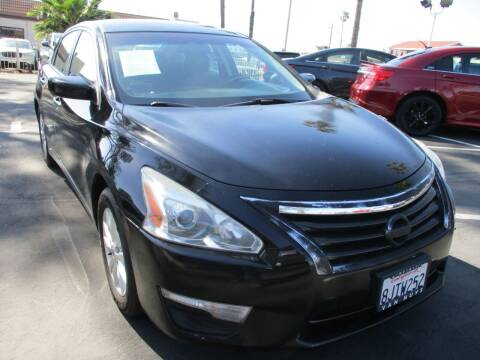 2014 Nissan Altima for sale at F & A Car Sales Inc in Ontario CA