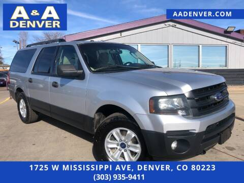 2016 Ford Expedition EL for sale at A & A AUTO LLC in Denver CO