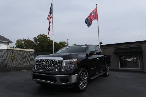 2019 Nissan Titan for sale at Danny Holder Automotive in Ashland City TN