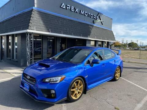 2015 Subaru WRX for sale at Apex Motors in Murray UT