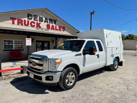 2013 Ford F-350 Super Duty for sale at DEBARY TRUCK SALES in Sanford FL