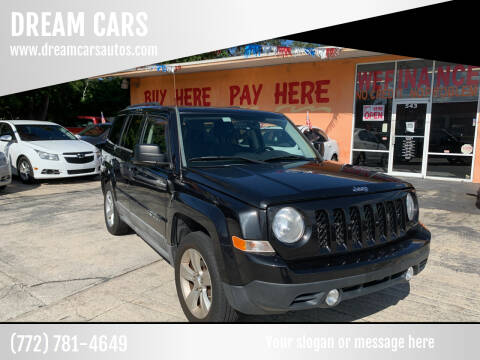 2011 Jeep Patriot for sale at DREAM CARS in Stuart FL