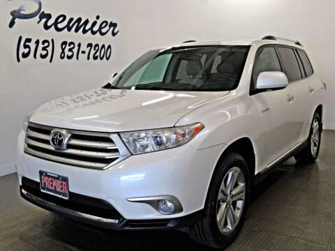 2013 Toyota Highlander for sale at Premier Automotive Group in Milford OH