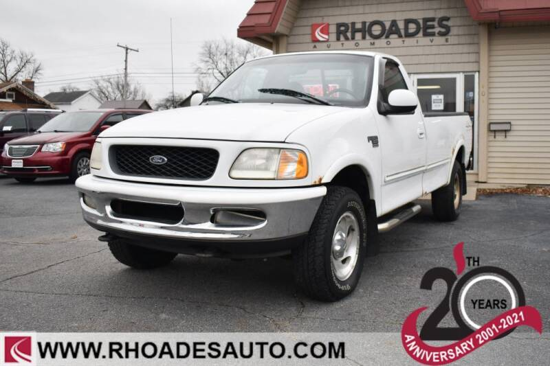 1998 Ford F-150 for sale at Rhoades Automotive in Columbia City IN