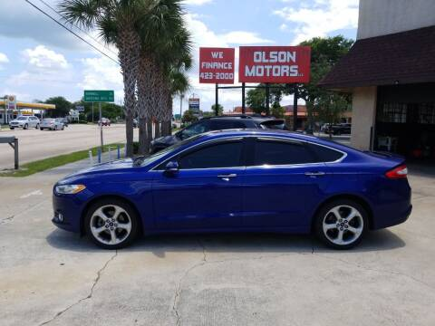 2014 Ford Fusion for sale at Olson Motors LLC in Saint Augustine FL