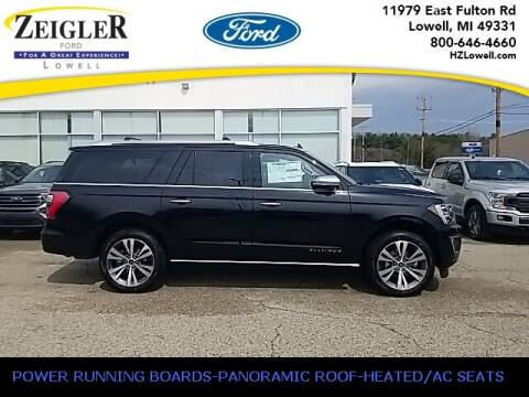 2021 Ford Expedition MAX for sale at Zeigler Ford of Plainwell- Jeff Bishop in Plainwell MI