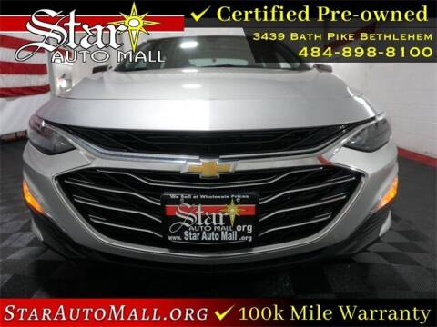 2019 Chevrolet Malibu for sale at STAR AUTO MALL 512 in Bethlehem PA