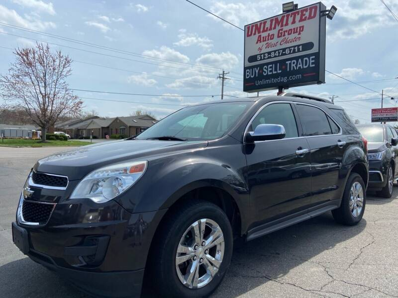 2015 Chevrolet Equinox for sale at Unlimited Auto Group in West Chester OH