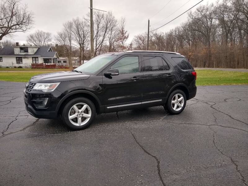 2016 Ford Explorer for sale at Depue Auto Sales Inc in Paw Paw MI