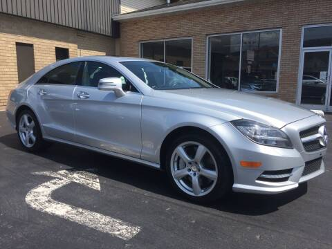 2014 Mercedes-Benz CLS for sale at C Pizzano Auto Sales in Wyoming PA