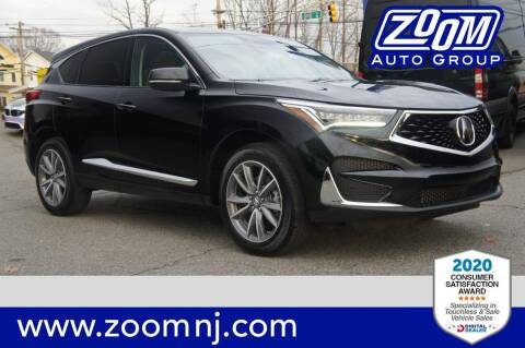 2020 Acura RDX for sale at Zoom Auto Group in Parsippany NJ