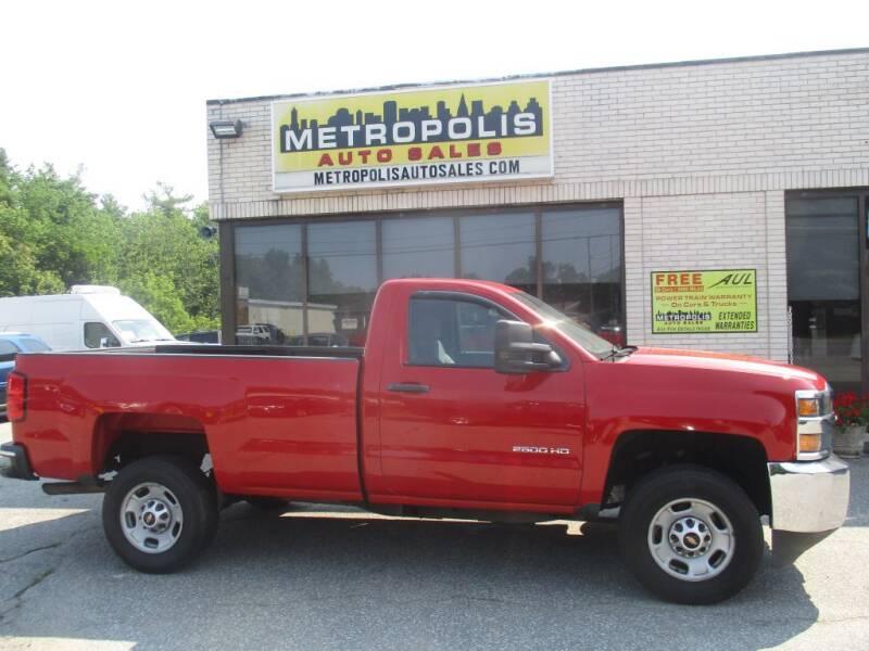 2015 Chevrolet Silverado 2500HD for sale at Metropolis Auto Sales in Pelham NH