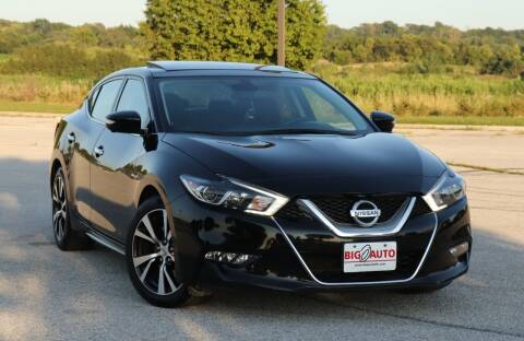 2017 Nissan Maxima for sale at Big O Auto LLC in Omaha NE