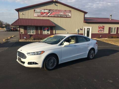 2014 Ford Fusion for sale at Southlake Body Auto Repair & Auto Sales in Hebron IN