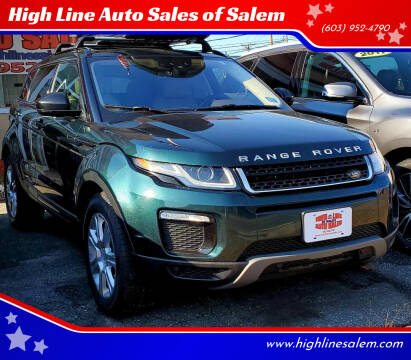 2016 Land Rover Range Rover Evoque for sale at High Line Auto Sales of Salem in Salem NH