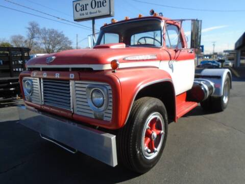 1962 Ford F850 CUSTOM CAB for sale at Car One in Murfreesboro TN