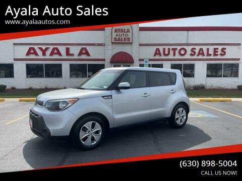 2016 Kia Soul for sale at Ayala Auto Sales in Aurora IL