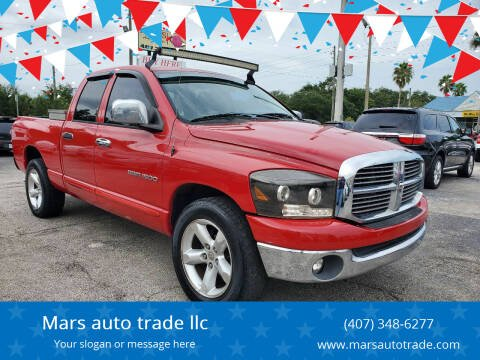 2007 Dodge Ram Pickup 1500 for sale at Mars auto trade llc in Kissimmee FL