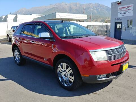 2009 Lincoln MKX for sale at Canyon Auto Sales in Orem UT