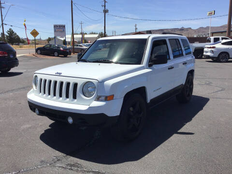 2016 Jeep Patriot for sale at SPEND-LESS AUTO in Kingman AZ